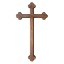 Ježíš na kříži II - 29/46 cm