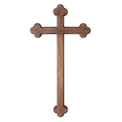Ježíš na kříži II, světlý - 29/46 cm