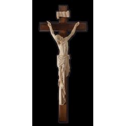Kříž na zeď s Ježíšem - Dřevěný - 52/75 cm
