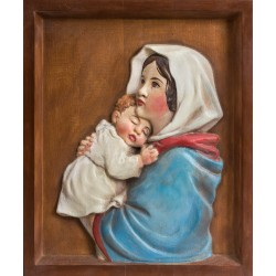 Panna Maria - reliéf na zeď