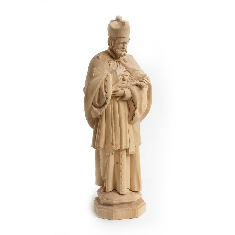 Dřevěná socha sv. Jan Nepomucký 45 cm