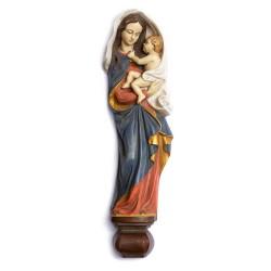 Panna Marie na zeď - malovaná - 38 cm