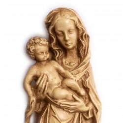 Panna Maria Gotická - dekorace na zeď 38 cm