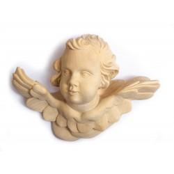 Dřevěná socha Andělíček na zeď