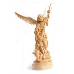 Archanděl Michael - dřevěná socha