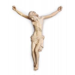 Vyřezávané tělo Ježiše Krista - dřevěné