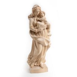 Dřevěná socha Panna Maria s...