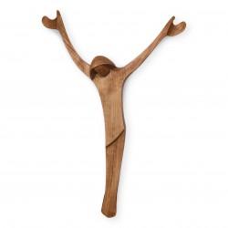 Moderní dřevěný kříž na stěnu - 40 cm