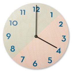 Nástěnné dřevěné hodiny -...