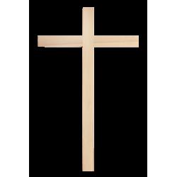 Dřevěný kříž na zeď - 45...